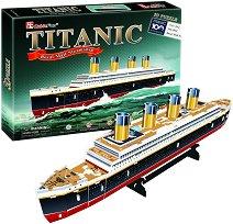 Титаник - 3D пъзел - пъзел