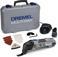 Акумулаторен осцилиращ инструмент - Multi-Max 8300-9 - Комплект с консумативи -