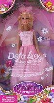 """Кукла Луси - Принцеса - Кукла от серията """"Defa Lucy"""" - количка"""