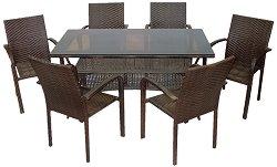 Комплект градински мебели - 59-45-2 - Имитация на ратан