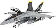 Изтребител - F/A-18 Super Hornet - Сглобяем авиомодел -
