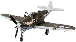 Военен самолет - P-39D Airacobra - Сглобяем авиомодел - макет