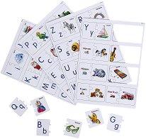 Научи латинската азбука - Образователен пъзел -