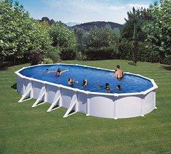 Овален сглобяем басейн -
