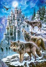 Вълци пред замъка - пъзел