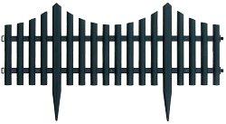 Ниска градинска ограда - Модел 1315-HD8026 - 1 модул с дължина 60 cm