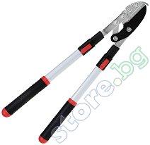 Градинска телескопична ножица за клони - С наковалня
