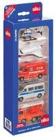 """Превозни средства за спасителен отряд - Комплект от 5 метални играчки от серията """"Gift sets"""" -"""