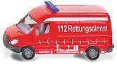 """Линейка - Метална играчка от серията """"Super: Emergency rescue"""" - количка"""