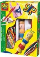 Изплети сам - фигурки от конци - Творчески комплект - играчка