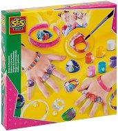 Декорирай сама - гривни и пръстени - Творчески комплект - кукла