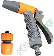 Градински пистолет за поливане с права струя