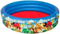 Детски басейн - Angry Birds - Надуваема играчка -