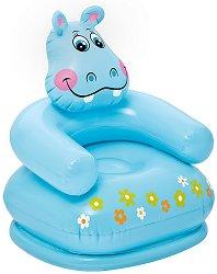 Кресло - Хипопотамче - Надуваема играчка -