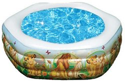 Детски басейн - Цар Лъв - Надуваема играчка -