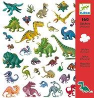 Комплект стикери за декорация - Динозаври