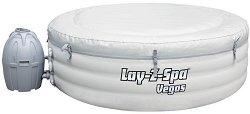 Кръгло надуваемо джакузи с филтърна помпа - Lay-Z-Spa Vegas