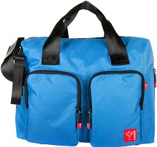 Чанта - Worker - Аксесоар за детска количка с подложка за преповиване -