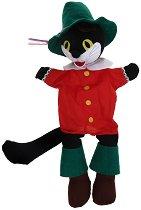 Кукла за куклен театър - Котаракът с чизми - детски аксесоар