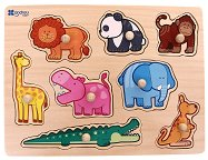 Джунгла - Детски дървен пъзел -