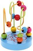 """Клоун - Дървена играчка от серията """"Лабиринт"""" - творчески комплект"""