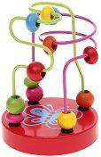 """Пеперуда - Дървена играчка от серията """"Лабиринт"""" - творчески комплект"""