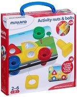 Болтове и гайки - Детски образователен комплект - играчка