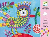 Мозайка - Птица и калинка - играчка