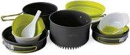 Алуминиеви съдове за хранене - Quadri X - Комплект от 10 части