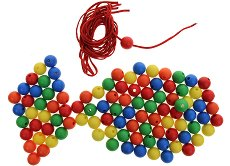 Топчета - Играчка за нанизване - играчка