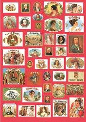 Декупажна хартия - Дами и джентълмени 640 - Дизайн на Russell Leonard