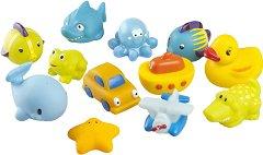 Играчки за баня - За момчета - Комплект от 12 броя -