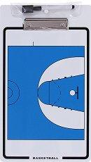 Двустранна треньорска дъска за баскетбол -