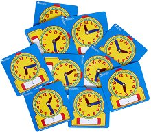 Научи часовника - Образователна играчка - играчка