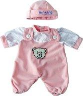 Ританки и шапка - Дрешки за кукла бебе -