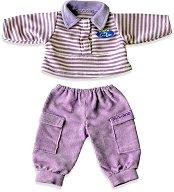 Риза и джинси - Дрешки за кукла бебе -