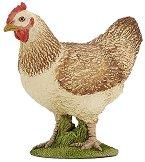 """Кокошка - Фигура от серията """"Животните във фермата"""" - играчка"""
