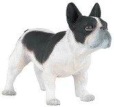 """Куче - Френски булдог - Фигура от серията """"Животните във фермата"""" - фигура"""