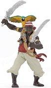 """Пират със саби и папагал - Фигура от серията """"Пирати"""" -"""