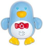Плуващ пингвин - Бебешка музикална играчка за баня - играчка