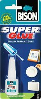 Универсално секундно лепило с четка - Super Glue - Тубичка от 5 g - макет