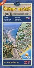 Слънчев бряг - Несебърски залив - Аксонометрична карта -