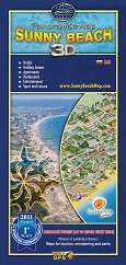 Слънчев бряг - Свети Влас - Аксонометрична карта -