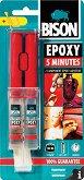 Универсално епоксидно лепило - Epoxy 5 minutes - Двойна спринцовка от 24 ml -