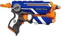"""Пистолет - Firestrike - Комплект с 3 броя меки стрелички от серията """"Nerf"""" -"""