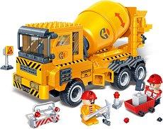 """Бетонобъркачка - Детски конструктор от серията """"BanBao Construction"""" - играчка"""