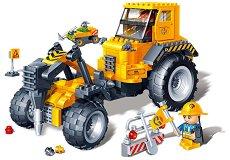 """Къртач - Детски конструктор от серията """"BanBao Construction"""" - образователен комплект"""
