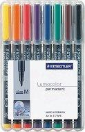 Перманентни тънкописци - Lumocolor 317 M - Комплекти от 6 и 8 цвята