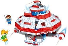 """Космическа станция - Детски конструктор от серията """"BanBao Journey V"""" - играчка"""