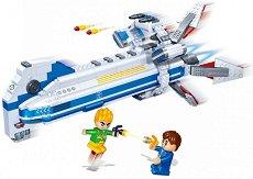 """Космически кораб - Детски конструктор от серията """"BanBao Journey V"""" - чанта"""